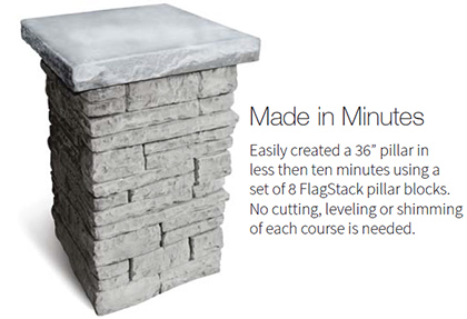 FlagStack Pillar Kit